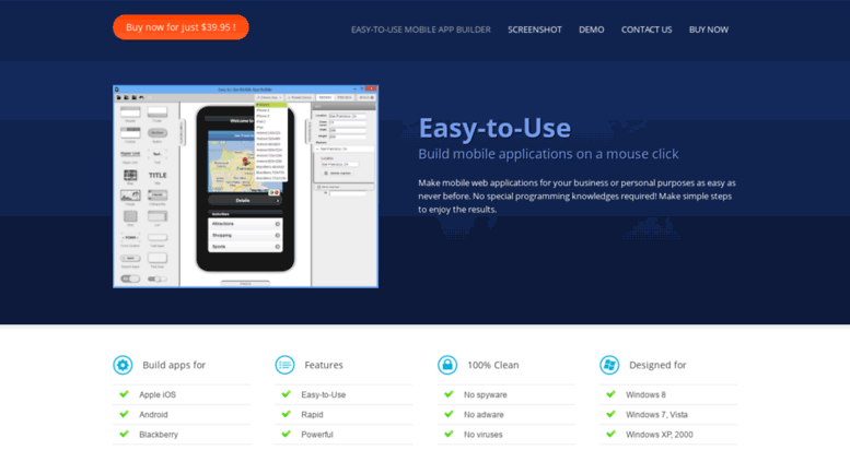 Access mobile-app-builder easy-to-use-solutions com  Easy-to