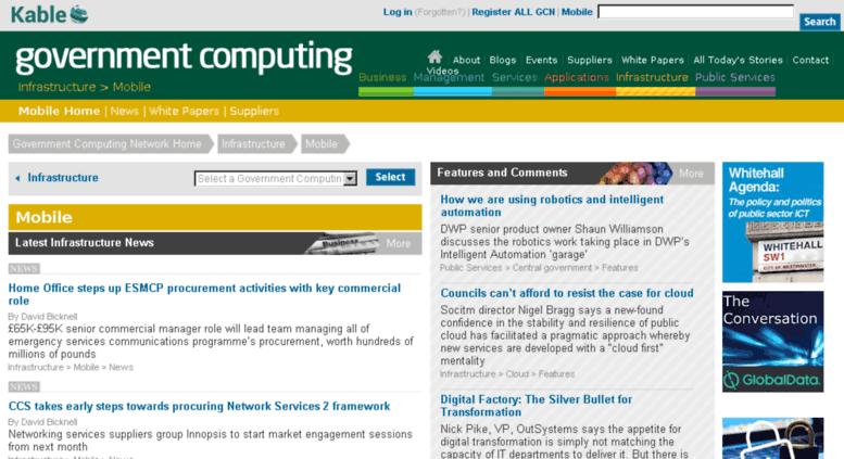 Access mobile governmentcomputing com  Mobile Industry News
