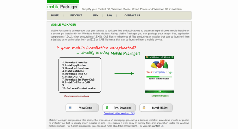 mobile packager