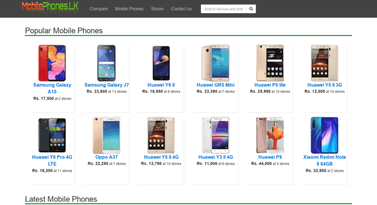 Access mobilephones lk  Mobile Phone Price lists in Sri Lanka