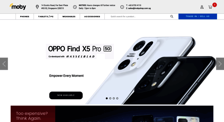 Access mobyshop com sg  MOBYSHOP Singapore | Shop brand new