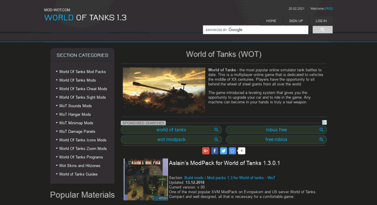 Access mod-wot com  WoT 1 3 - Download Mods, Hacks, Cheats