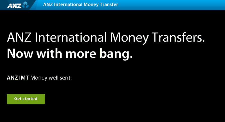 Moneytransfer Anz Screenshot