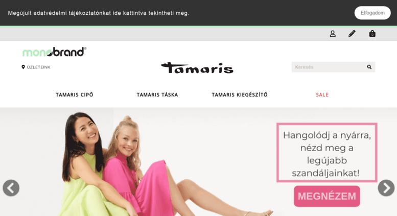 Access monobrand.hu. Tamaris Webshop  4218f95a50