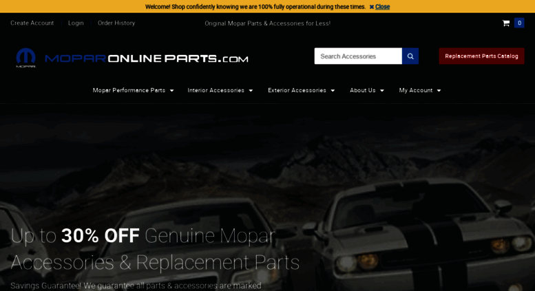 Access Moparonlineparts Com Buy Mopar Car Truck Parts Genuine