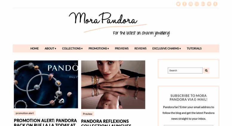 9e9290230 Access morapandorablog.com. Mora Pandora | A blog all about Pandora ...
