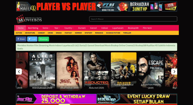 Access moviebos com  Nonton Film Streaming Indoxxi Layarkaca21 Lk21