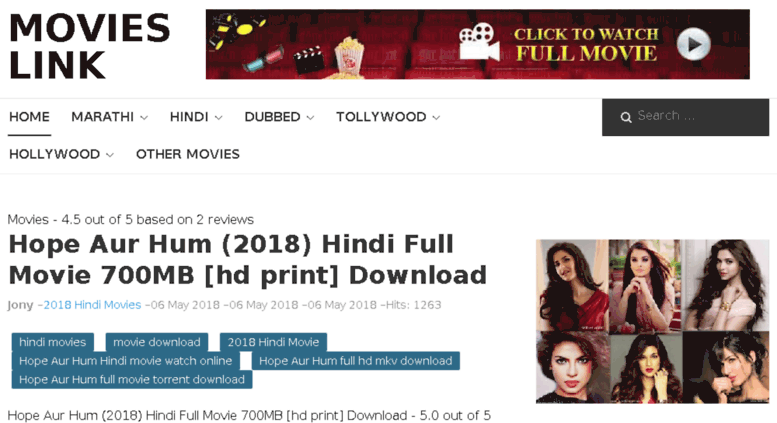 bollywood latest movie download link