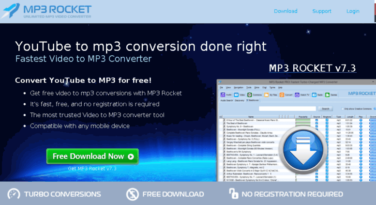 youtube to mp3 conversion right