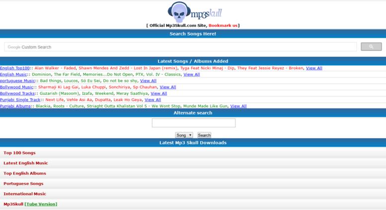Access mp3skulls info  Mp3Skull Com - Free Mp3 Skull Music