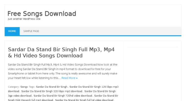 Access mp3songplace in  Mp3 Song Download
