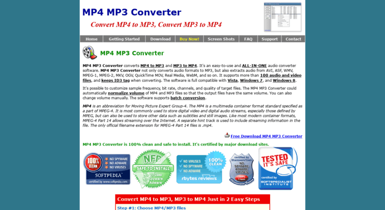 Access mp4-mp3 net  MP4 to MP3, MP3 to MP4 - Convert MP4 to MP3