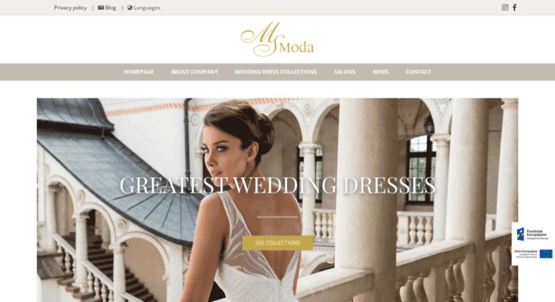 Access Msmodaeu Homepage Ms Moda Modne Suknie ślubne Ms Moda