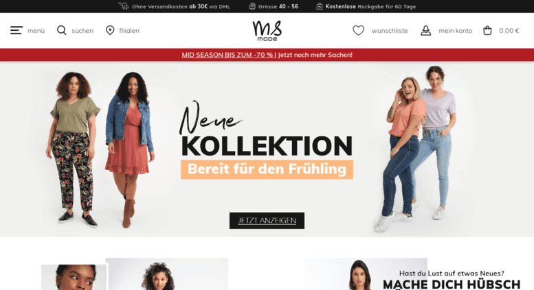Access Msmode De Damenmode Auch In Grossen Grossen Ms Mode Online
