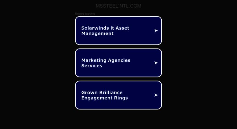 Access mssteelintl com  MS Steel International FZCO | Dubai | United