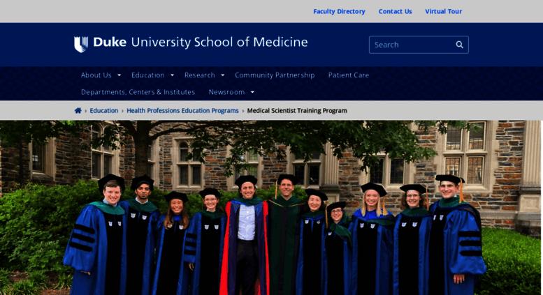 Access mstp duke edu  Medical Scientist Training Program | Duke