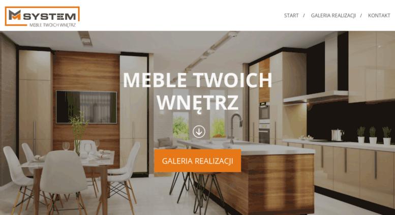 Access Msystem Meble Pl Meble Kuchenne Warszawa Meble Na Wymiar