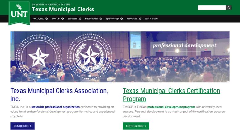 Access Municlerks Unt Edu Texas Municipal Clerks