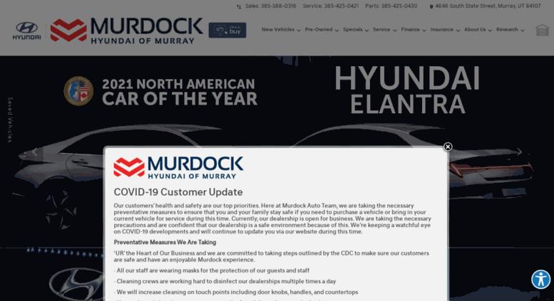 Murdock Hyundai Murray >> Access Murdockhyundaislc Com Hyundai Utah Murdock Hyundai