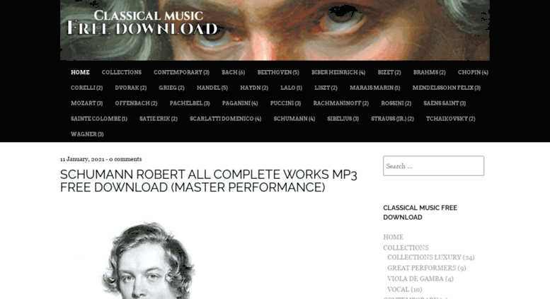 classical music free download mp3 flac complete works