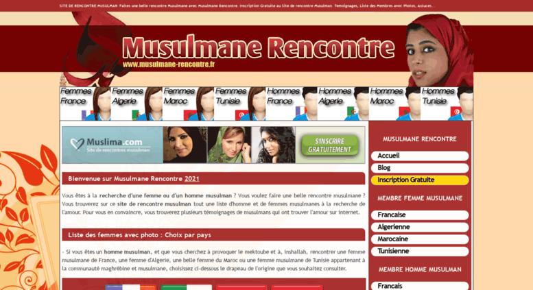 site de rencontres tunisie gratuit inchallah site de rencontre musulmane