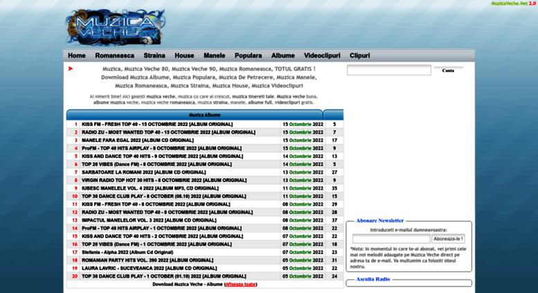 Access Muzicavechenet Download Muzica Romaneasca Straina Manele