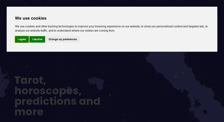 Access my-fortune-teller com  Fortune teller - Horoscope - Tarot