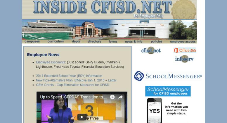 Access My Inside Cfisd Net Login