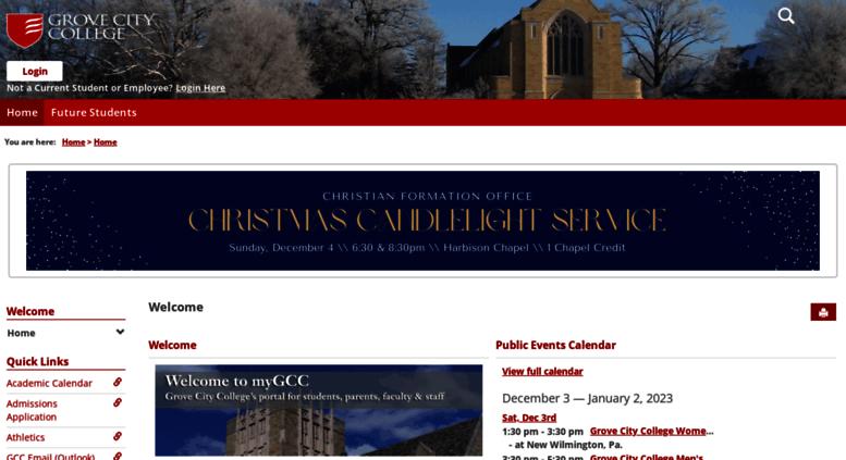 Access my gcc edu  Home | Welcome