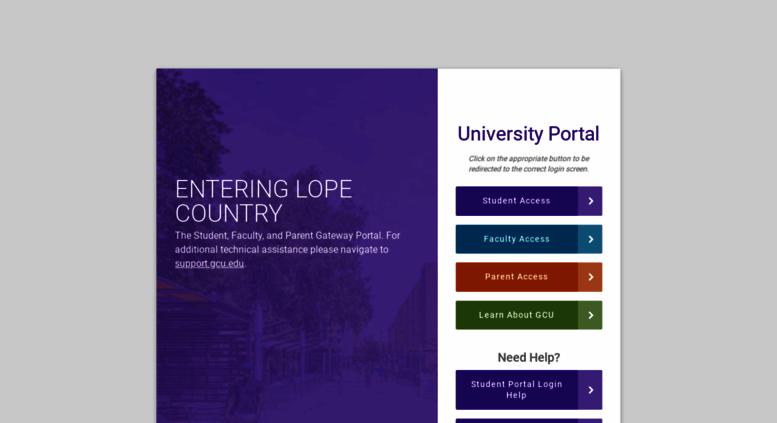 www.my.gcu.edu student portal