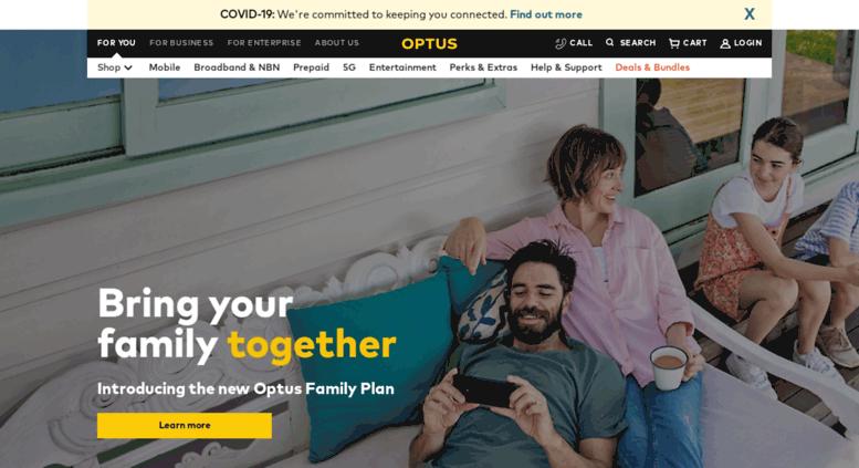 Access my optus com au  Optus - Mobile Phones, NBN
