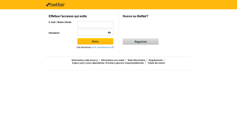 My Account Betfair