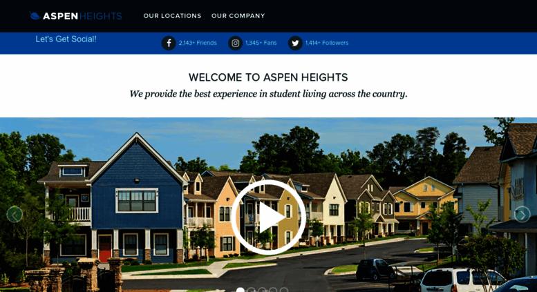 myaspenheights Access myaspenheights.com. Off-Campus Student Housing ...