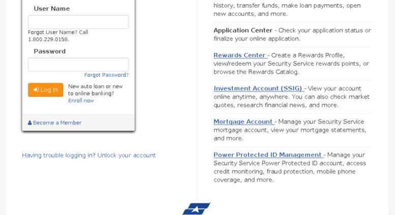 Ssfcu Login In >> Access mybranch.ssfcu.org. myBranch Online Banking Login