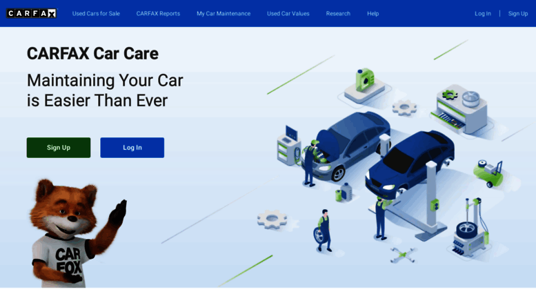 Access mycarfax com  Free Car Maintenance App and Recall