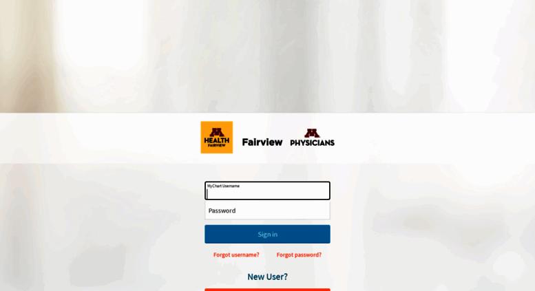 Access mychart fairview org mychart application error page