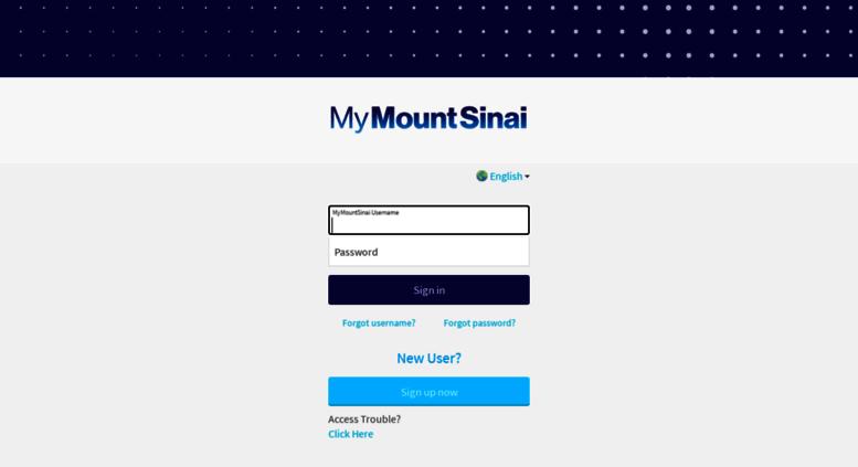 Access mychart mountsinai org  MyChart - Application Error Page