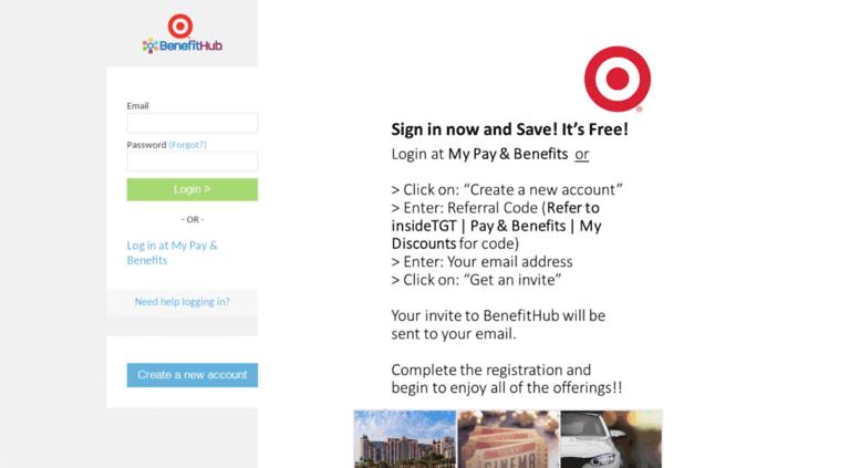 Target Benefit Hub >> Access Mydiscounts Benefithub Com Target Employee Discounts