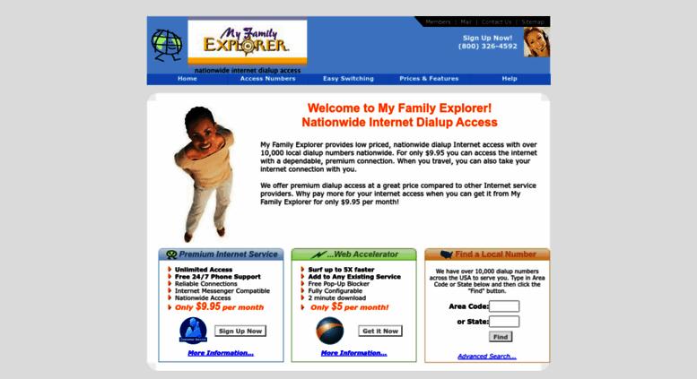 Access Myfam Com My Family Explorer Nationwide Internet