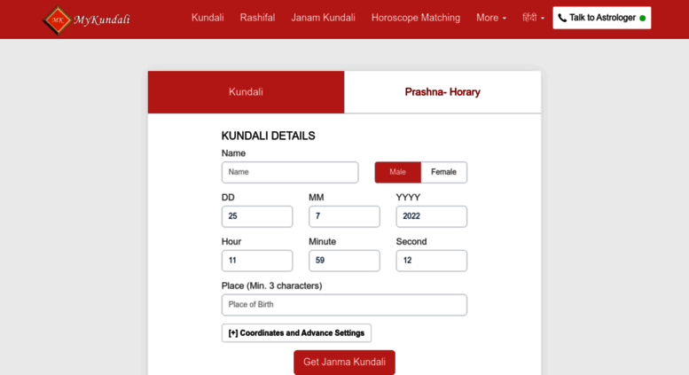 kundli match gør software download