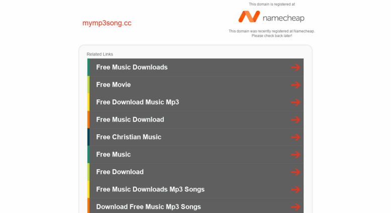 Access mymp3song cc  mymp3song cc - Registered at Namecheap com