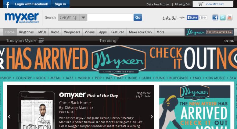 mymyxxer.com screenshot