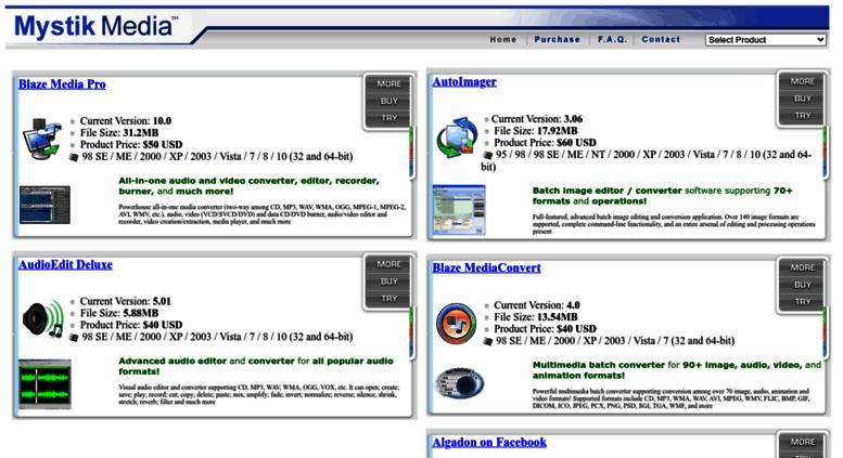 Access mystikmedia com  Audio, Video, Image Batch Converter