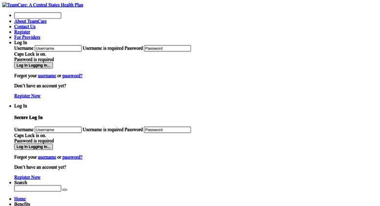 team care.org Access myteamcare.org. TeamCare