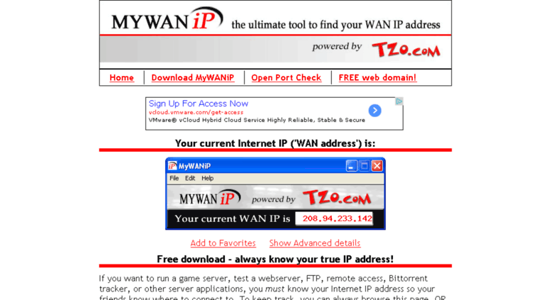 how to check my wan ip