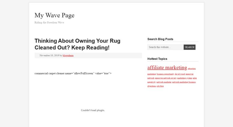 Access mywavepage com  My Wave Page