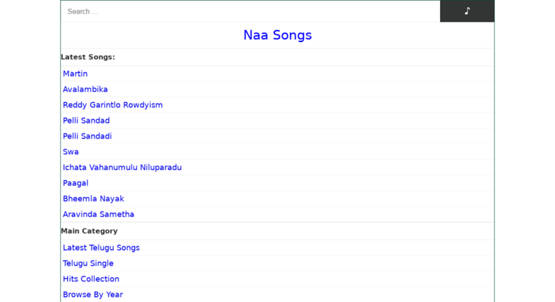 Access Naasongs Audio Naa Songs Telugu Mp3 Songs Free Download