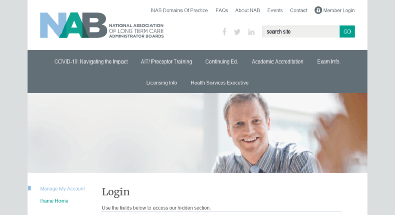 Access nab learningbuilder com  Manage My Account | National