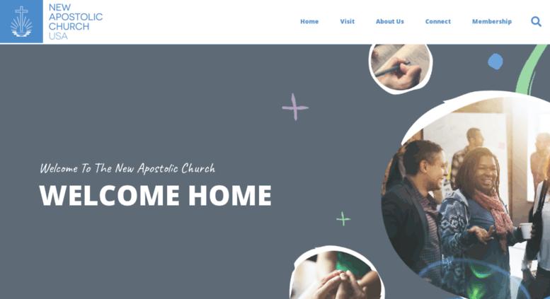 Access nac-usa org  New Apostolic Church USA - Home