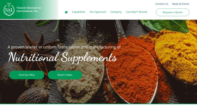 Access nai-online com  Nutritional Supplement Custom